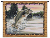 Bass Attack Wall Tapestry by Hagan