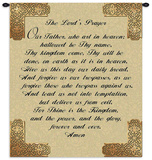 The Lord&#39;s Prayer Wall Tapestry