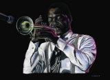 Trompeta II Poster by Ruben Alvarez