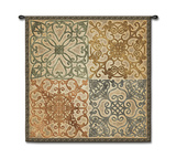 Wrought Iron Elegance Wall Tapestry