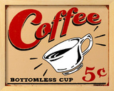 Coffee 5 Framed Sign by B. J. Schonberg