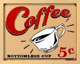 Coffee 5 Framed Sign by B. J. Schonberg