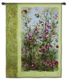 Wild Garden Wall Tapestry by Fabrice De Villeneuve