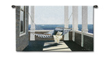 Striped Hammock Wall Tapestry by Zhen-Huan Lu