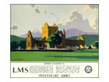 Sweetheart Abbey, LMS, 1923-1947 Giclee Print by Norman Wilkinson