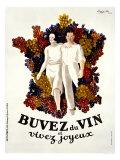 Buvez du Vin Reproduction procédé giclée par Leonetto Cappiello