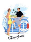 Furness Cruises Giclee Print by Adolph Treidler