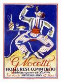 Italian Restaurant G. Nocetty Zurich Giclee Print