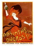 Absinthe Ducros Fils Giclee Print by Leonetto Cappiello
