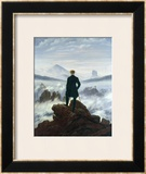 The Wanderer Above the Sea of Fog, 1818 Posters by Caspar David Friedrich