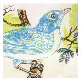 Bluebird Posters by Swan Papel