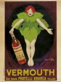 Vermouth Fratelli Branca, 1922 Art by Jean D' Ylen