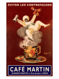 Cafe Martin Giclee Print by Leonetto Cappiello