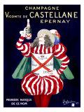Champagne Vicomte de Castellane Epernay Giclee Print by Leonetto Cappiello