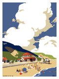 Saltburn-by-the-Sea, LNER, 1923-1947 Giclee Print by Frank Newbould