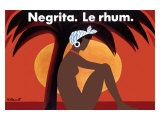 Negrita Le Rhum Giclee Print by Bernard Villemot