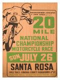 Santa Rosa, California Giclee Print