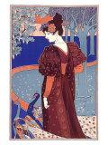 L'Estampe Modern Giclee Print by Louis John Rhead