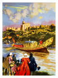 Windsor, Britain by Train Giclee Print