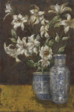 Delft Lilies Prints by Jill O'Flannery