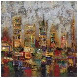 City Lights I Print by Dominick 