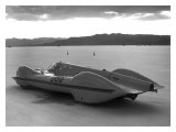 Bonneville Land Speed Racer Giclee Print by David Perry