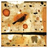 Orange Tanager Affiche par Nicholas Wilton