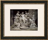 Apollo Served by the Nymphs Prints by François Girardon