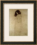 Portrait of a Young Woman, 1896-97 Prints by Gustav Klimt