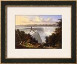 Niagara Falls Scene Prints by Victor De Grailly