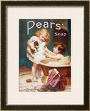 His Turn Next, from the Pears Annual Poster by Emile Munier