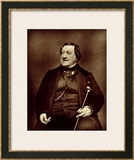"Gioacchino Rossini from ""Galerie Contemporaine,"" 1877 Prints by Etienne Carjat"
