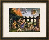 Minerva Chasing the Vices from the Garden of Virtue Prints by Andrea Mantegna