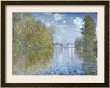 Autumn in Argenteuil Posters by Claude Monet