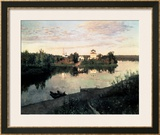 Evening Bells Prints by Isaak Ilyich Levitan
