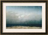 Monk by Sea, 1809 Prints by Caspar David Friedrich