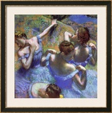 Blue Dancers, circa 1899 Prints by Edgar Degas
