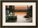 Flooded Ruins at Sunset Prints by Enrique Serra