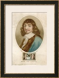 Rene Descartes French Mathematician and Philosopher Posters by J. Chapman