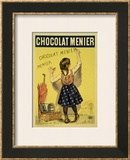 "Reproduction of a Poster Advertising ""Menier"" Chocolate, 1893 Print by Firmin Etienne Bouisset"