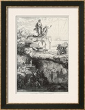 "In Plato's ""Republic"" Socrates Likens Mankind to Prisoners in a Cave Prints by  Chevignard"