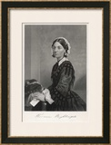 Florence Nightingale Nurse Hospital Reformer Philanthropist Posters by Alonzo Chappel