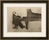 Johannes Brahms German Musician Prints