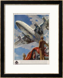 "An Armstrong Whitworth ""Ensign"" of Imperial Airways Takes Off Prints"