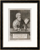 Hippocrates Greek Medical Prints by Franceso Sesone
