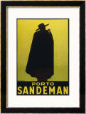 Sandeman Port, The Famous Silhouette Print by Georges Massiot