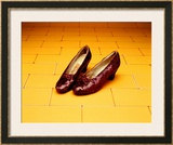 "A Pair of Ruby Slippers Worn by Judy Garland in the 1939 MGM film ""The Wizard of Oz"" Prints"