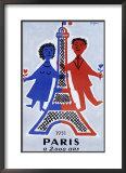 1951, Paris a 2.000 Ans Print by Raymond Savignac