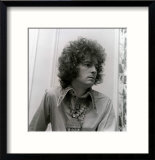 Eric Clapton, of Cream, Shows off His Curly Hair Created for Him by Ladies Hair Dresser, June 1967 Framed Photographic Print