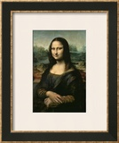 Mona Lisa, c.1507 Art by  Leonardo da Vinci
